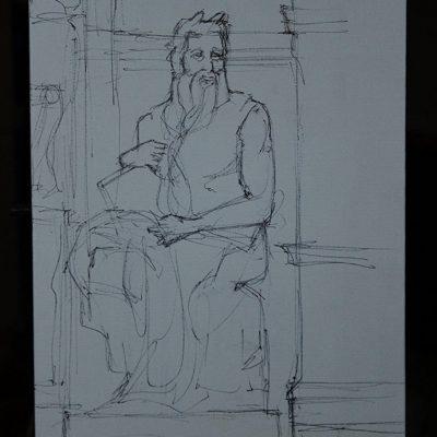 Davide Pacini - Mose' di Michelangelo