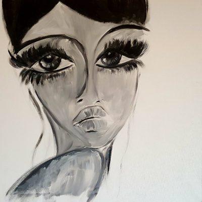 Le Tele di Alessia - My Audrey Hepburn