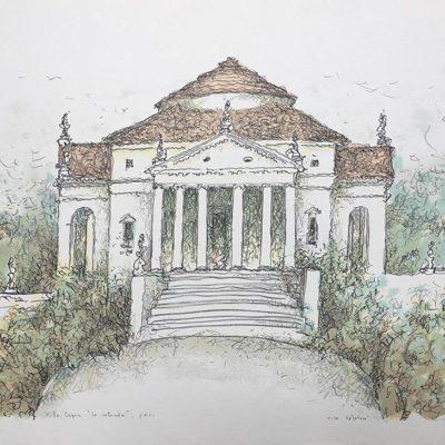 "Ville Venete: Villa Capra detta La Rotonda"" #2 -Vico Calabrò (Opera)"