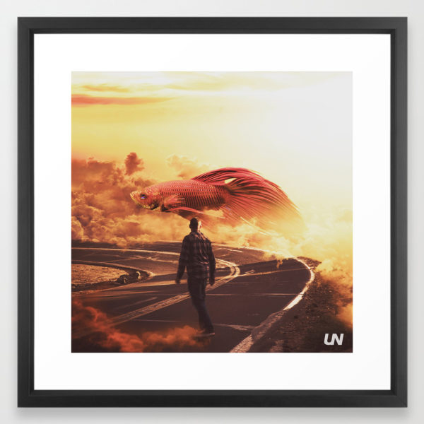 """""""Never Stop Dream"""" - Art Print by Unknownian"""