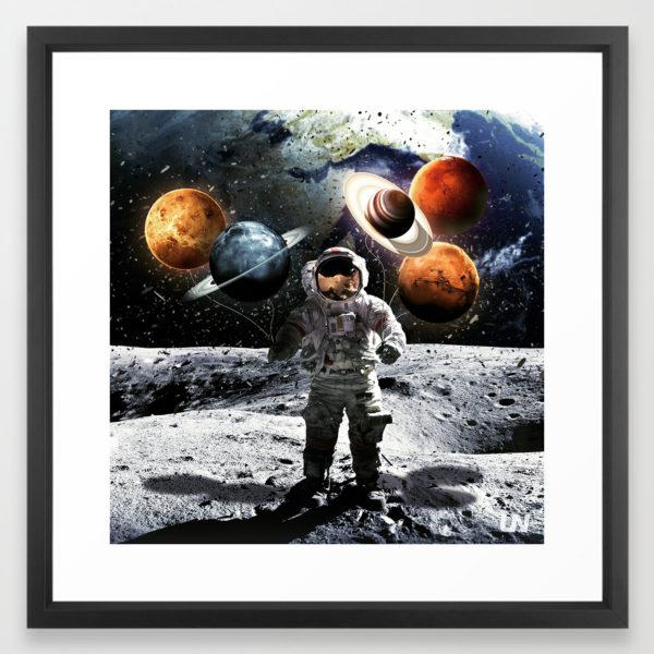 """Universe"" - Art Print by Unknownian"