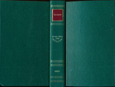 Rudolf Christoph Eucken. Premio Nobel 1908 - Le Opere