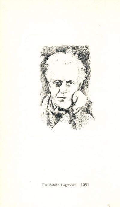 Pär Fabian Lagerkvist. Premio Nobel 1951 - Le Opere