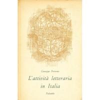 Giuseppe Petronio. L'attività letteraria in Italia