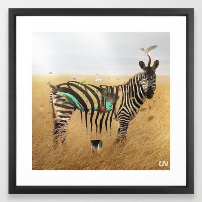 """Mr. Zebra"" – Art Print by Unknownian"
