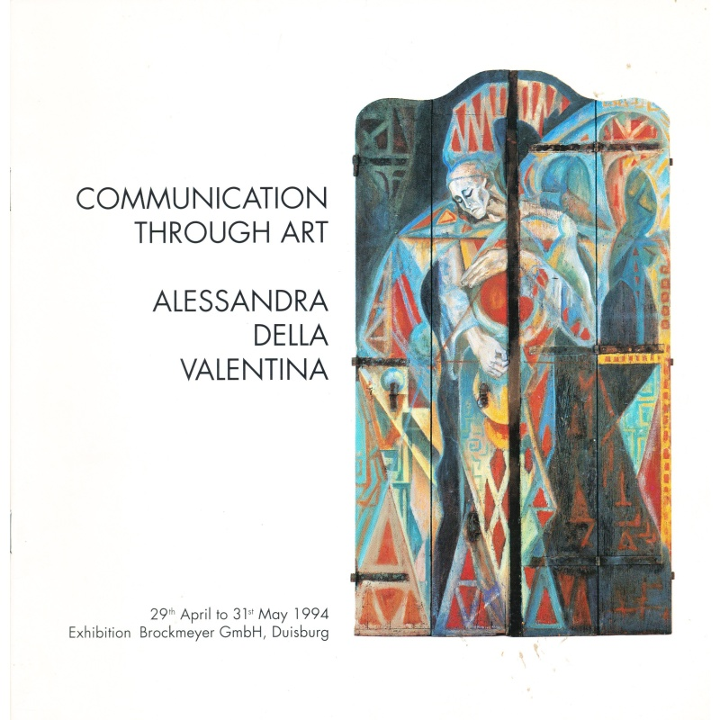 Alessandra Della Valentina. Communication Through Art