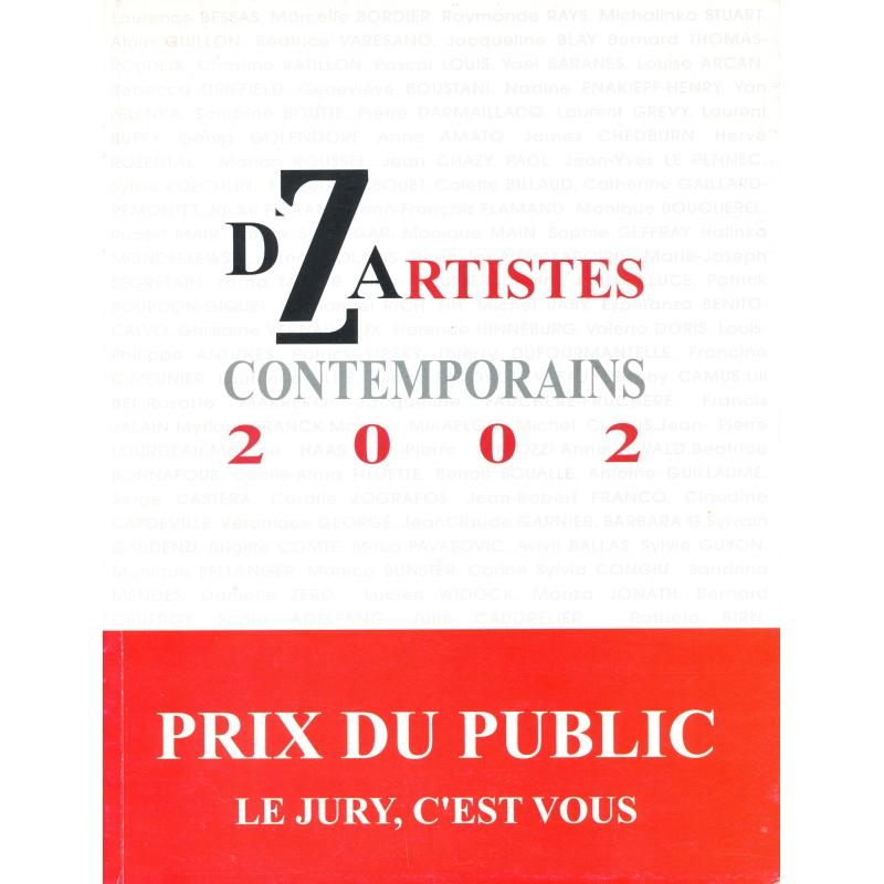 DZ Artistes contemporains, 2002