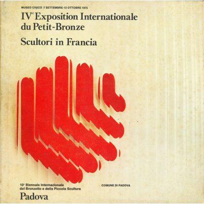 IV Exposition Internationale du Petit-Bronze - Scultori in Francia