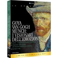 Goya, Van Gogh, Munch - I Visionari dell'Emozione (3 Blu-ray)