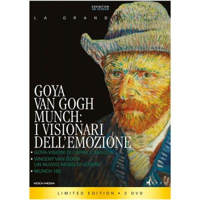 Goya, Van Gogh, Munch - I Visionari dell'Emozione (DVD)