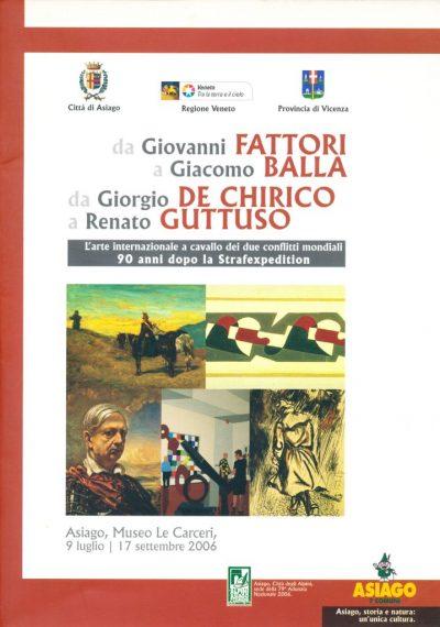 Da Giovanni Fattori a Giacomo Balla, da Giorgio De Chirico a Renato Guttuso