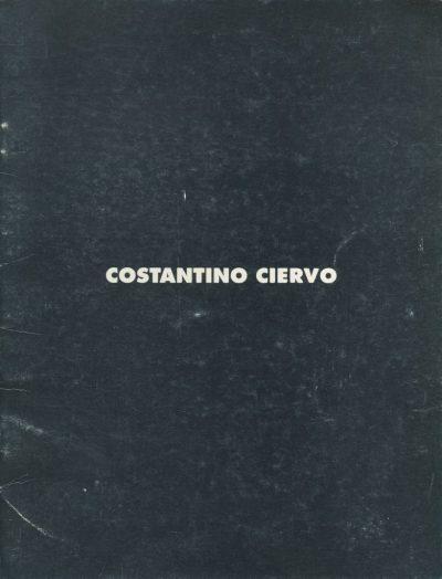 Costantino Ciervo. Deterritoriale - XLV Biennale di Venezia