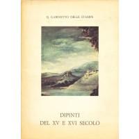 Dipinti del XV e XVI Secolo