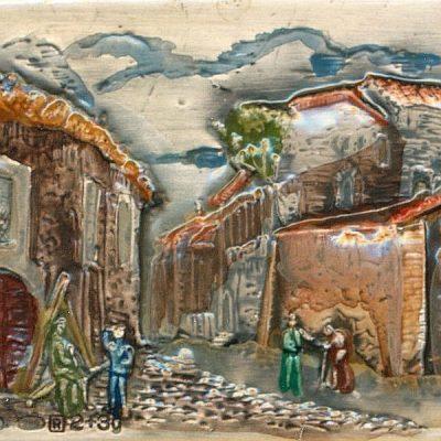 Miniatura su Argento - Scene di paese (Opera)