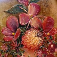 Miniatura dipinta a mano su rame
