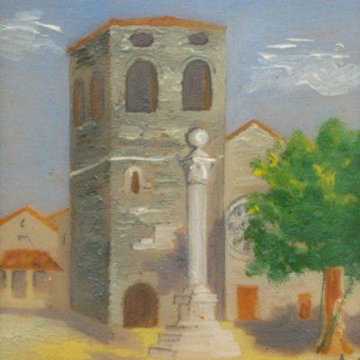 P.M. - Piazza con la Torre (Opera)