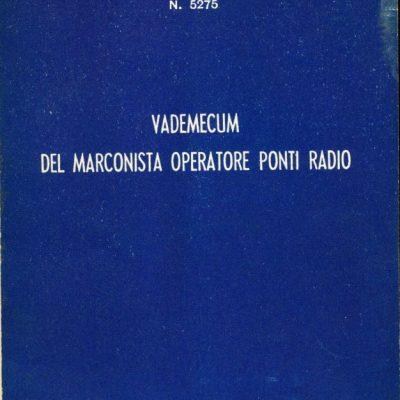 Vademecum del marconista operatore ponti radio