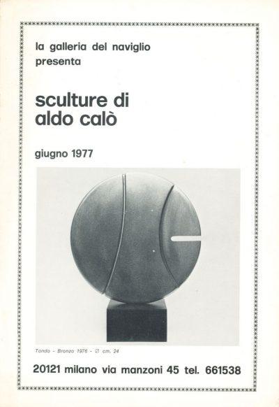 Aldo Calò. Sculture di Aldo Calò, 1977