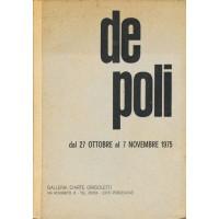 Mario De Poli. Novembre 1975