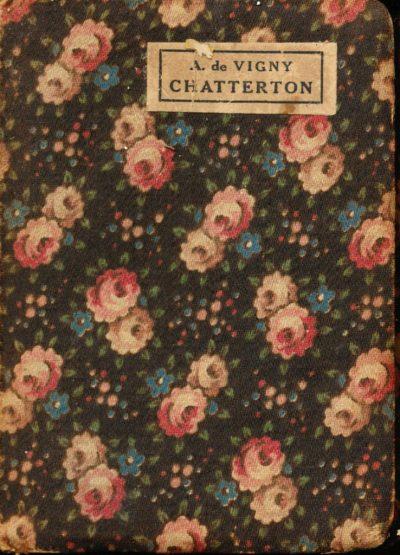Alfred De Vigny. Chatterton (Mini Libro)