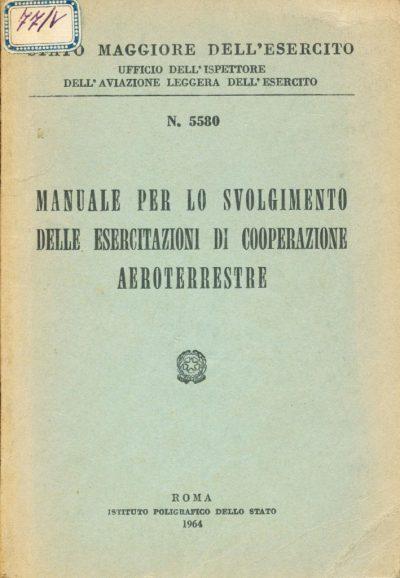Manuale per lo svolgimento delle esercitazioni di cooperazione aeroterrestre