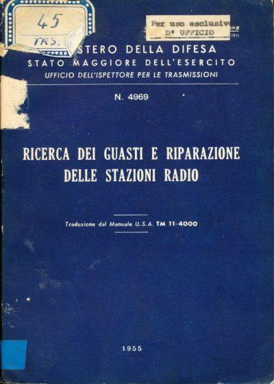 Ricerca dei guasti e riparazioni delle stazioni radio