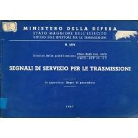 Segnali di servizio per le trasmissioni
