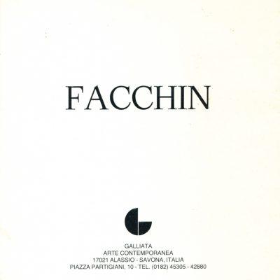 Celestino Facchin. Facchin - Galliata Arte Contemporanea, 1983