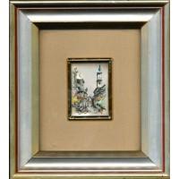 Lastra d'argento dipinta a mano (Opera)