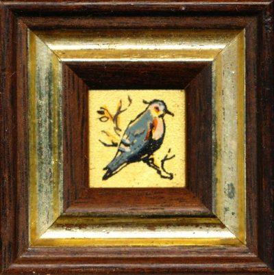 Dipinto a mano su foglia d'oro 24 carati (Opera)