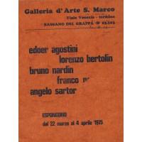 Gruppo SM 5 - Galleria d'Arte S. Marco, Bassano del Grappa, 1975