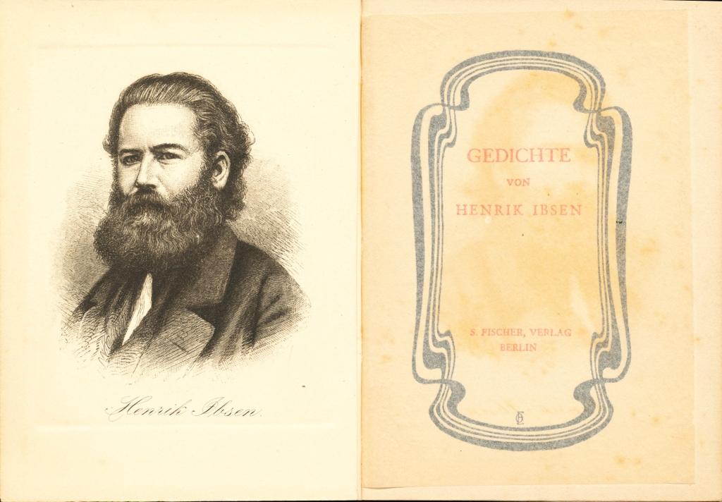 Gedichte Von Henrik Ibsen Mini Libro