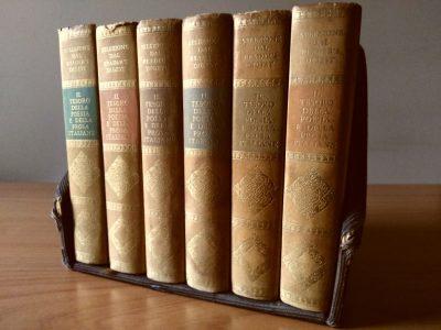 Il Tesoro della Poesia e della Prosa italiana (6 Volumi + Box)