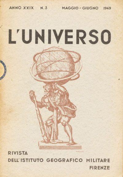 L'Universo. Rivista dell'Istituto Geografico Militare - n. 3