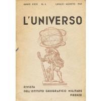 L'Universo. Rivista dell'Istituto Geografico Militare - n. 4