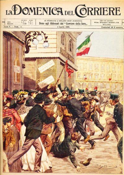 La Domenica del Corriere - Anno V - n. 14 (Riproduzione)
