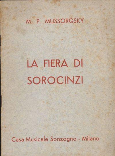 Enrico Magni. La Fiera di Sorocinzi – M.P. Mussorgsky (Libretto)