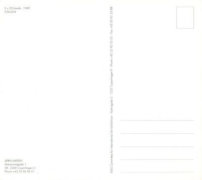Jorn Larsen. Post Card #2
