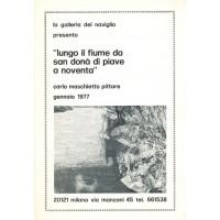 Carlo Maschietto. Lungo il fiume da San Donà di Piave a Noventa (1977)