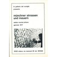 Walter Montel. Munchner strassen un mauern