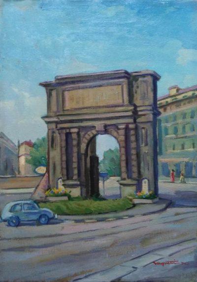 Vagnetti. Milano - Porta Romana (Opera)