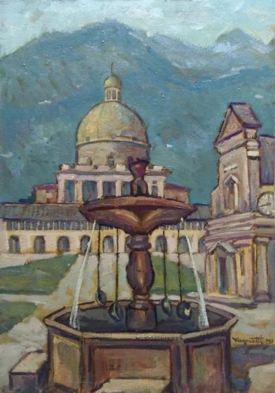 Dante Vagnetti. Santuario di Oropa (Opera)
