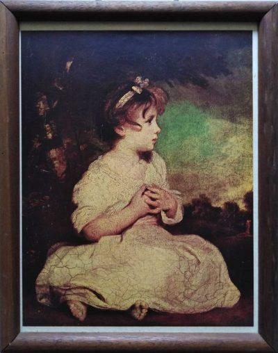 Sir Joshua Reynolds. The Age of Innocence / L'età dell'innocenza (Opera)