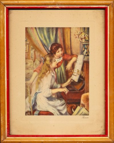 Auguste Renoir. Jeunes filles au piano (Opera)