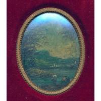 Ovale dipinto olio su tela (Opera)