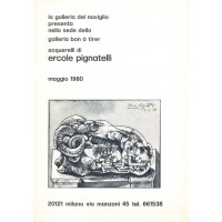 Ercole Pignatelli. Acquerelli di Ercole Pignatelli (1980)