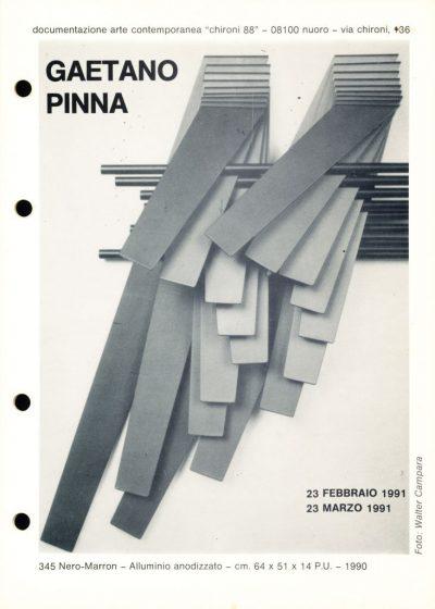Gaetano Pinna - Nuoro (1991)