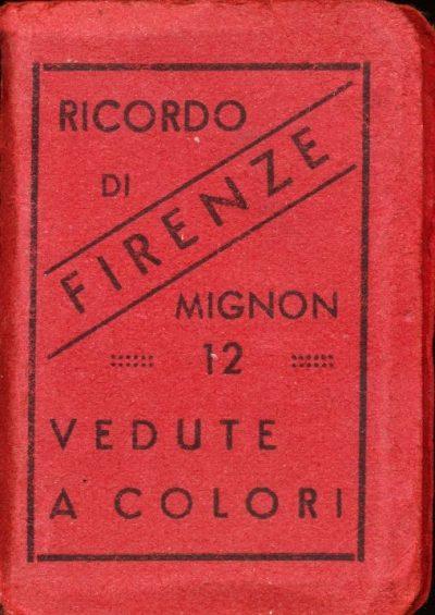 Ricordo di Firenze (Libro Mignon)