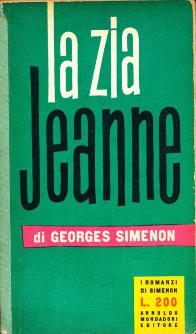 Georges Simenon. La zia Jeanne
