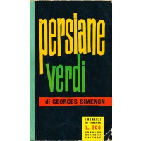 Georges Simenon. Persiani verdi